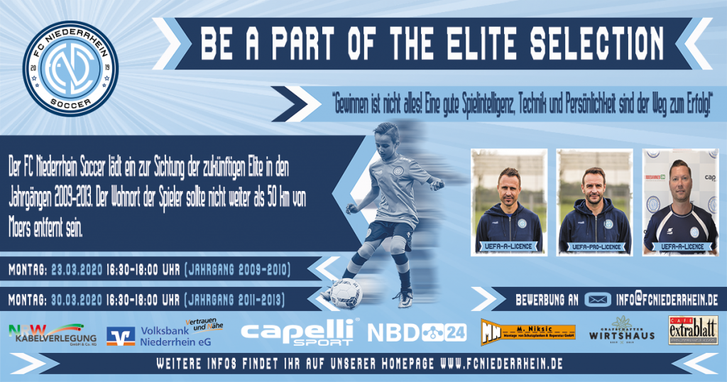 BE A PART OF THE ELITE SELECTION!💪